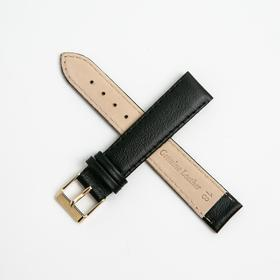Ремешок для часов, мужской, 18 мм, черный микс Ош