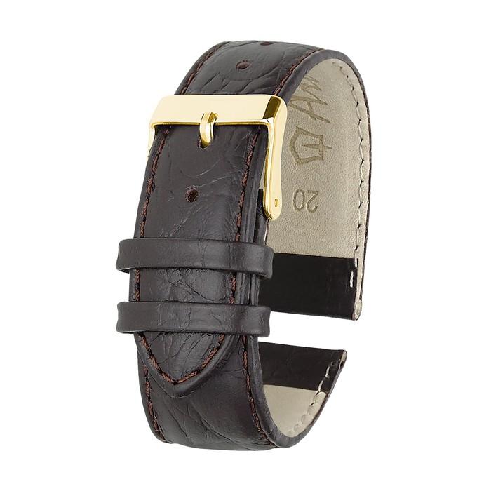 Ремень кожаный, присоед. р-р 20 мм, отделка пандора, удлиненный  микс
