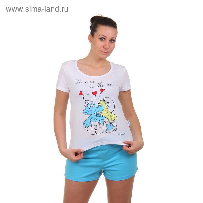 Пижама женская (футболка, шорты) 14с168SM П202, р-р 48