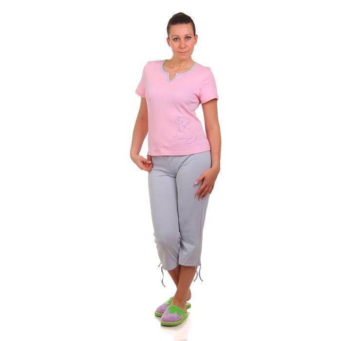 Комплект женский (футболка, бриджи) 11с51 В, р-р 40-42