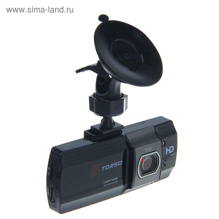 """Видеорегистратор TORSO TV-110, 1080P, 3 Мп, 2.7"""" TFT, АКБ 180 мАч, угол обзора 120º"""