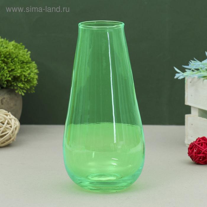 """Ваза """"Весна"""" зелёная, 0,72 л"""