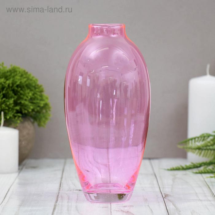 """Ваза """"Весна"""" розовая, 0,56 л"""