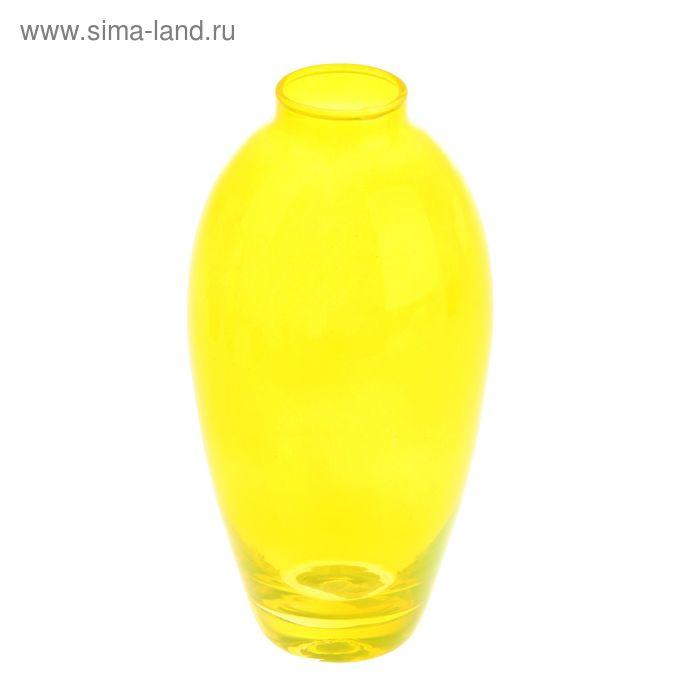 """Ваза """"Весна"""" жёлтая, 0,56 л"""