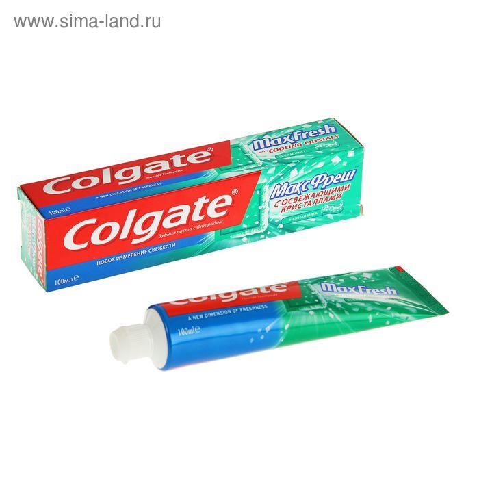 """Зубная паста Colgate Max Fresh """"Нежная мята"""" 100мл"""