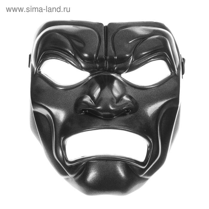 """Карнавальная маска пластик """"Злодей"""""""