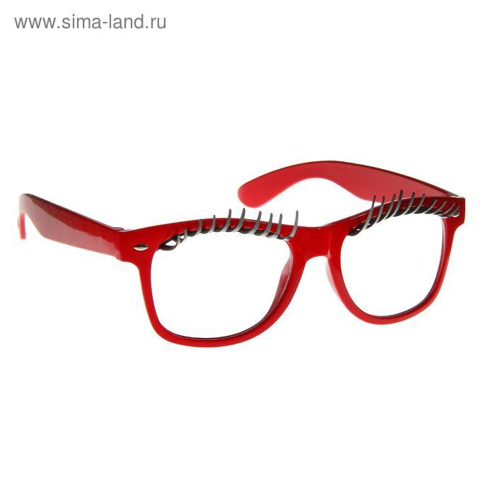 """Карнавальные очки """"Реснички"""", цвета МИКС"""
