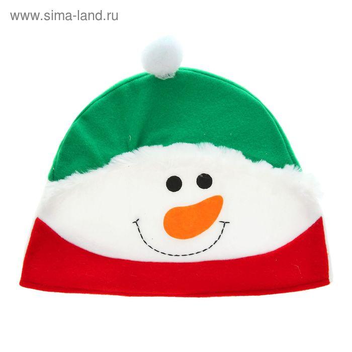 """Карнавальная шляпа """"Снеговичок"""""""