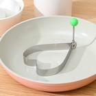 """Форма для яичницы и оладьев """"Сердце"""""""