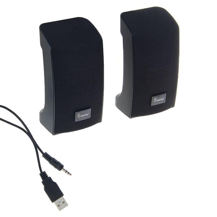 Акустическая система 2.0 SmartBuy ORCA BAND SBA-1000, 2х3Вт, черные
