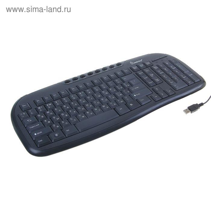 Клавиатура Smartbuy 205, USB, черная