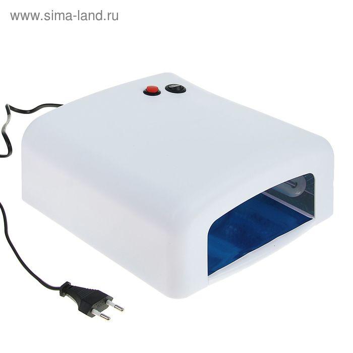 Лампа для гель-лака LuazON LUF-01, UV, 36 Вт, белая