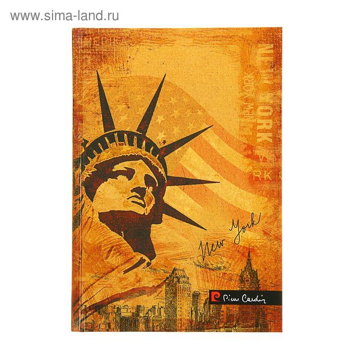 Ежедневник недатированный А5, 144 листа, Pierre Cardin New-York, дизайнерский блок
