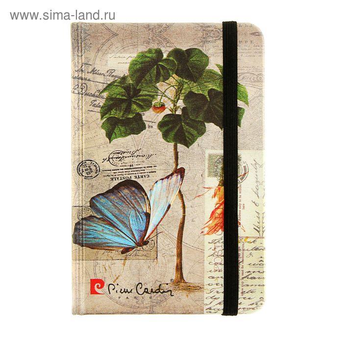 Ежедневник недатированный А6, 100 листов, Pierre Cardin Fond Romain, шелк, твердая обложка