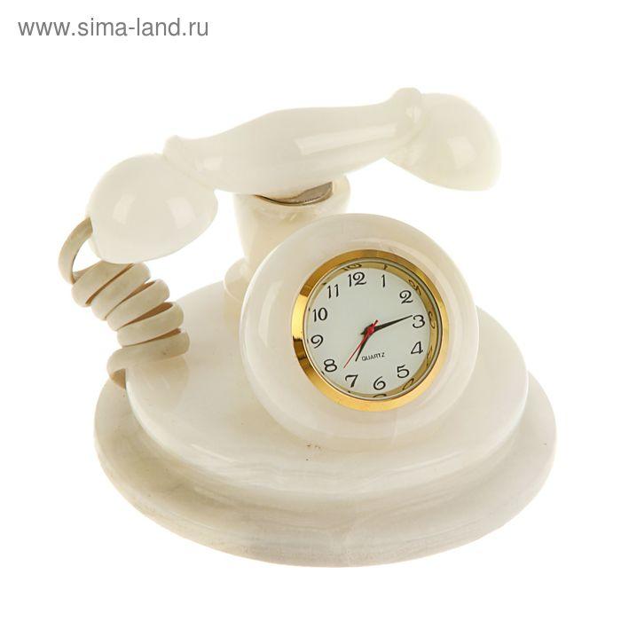 """Часы """"Телефон"""" малые оникс"""