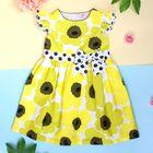 """Платье нарядное для девочки """"Подсолнух"""", рост 92-98 см (2 года)"""