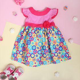 """Платье для девочки """"Утренняя зорька"""", рост 74-80 см (1 год)"""