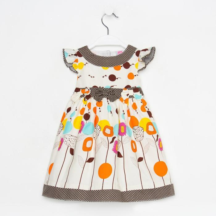 """Платье для девочки """"Полевые цветы"""", рост 80-86 см (1,5 года)"""