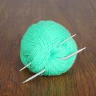Спицы для вязания жгутов изогнутые, 2 шт, d=2,5-4,0мм, 11-12см, CN2