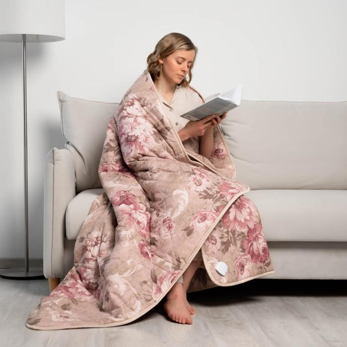 Электроодеяло EcoSapiens Blanket, хлопок 145х185 см