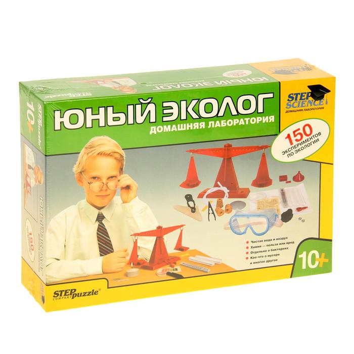"""Научный конструктор """"Домашняя лаборатория. Юный эколог"""""""