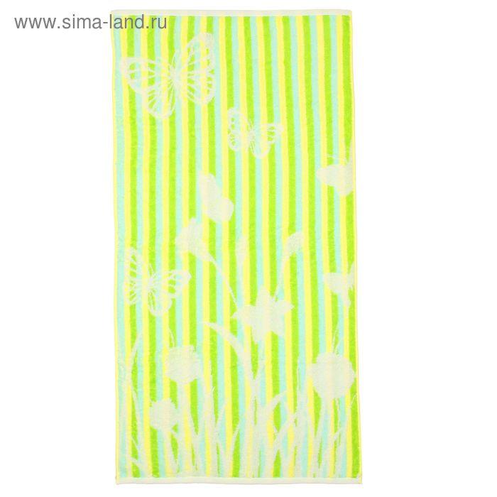 Полотенце махровое Flighty зеленый ПЦ-3502-2113 70*130см, 100% хл 460 гр/м