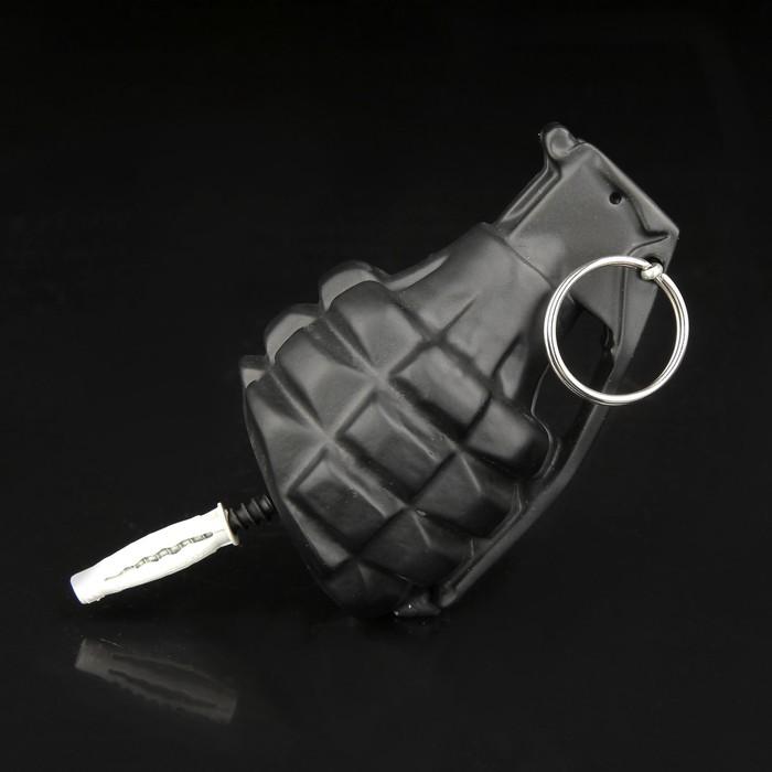 Вешалка-граната черная