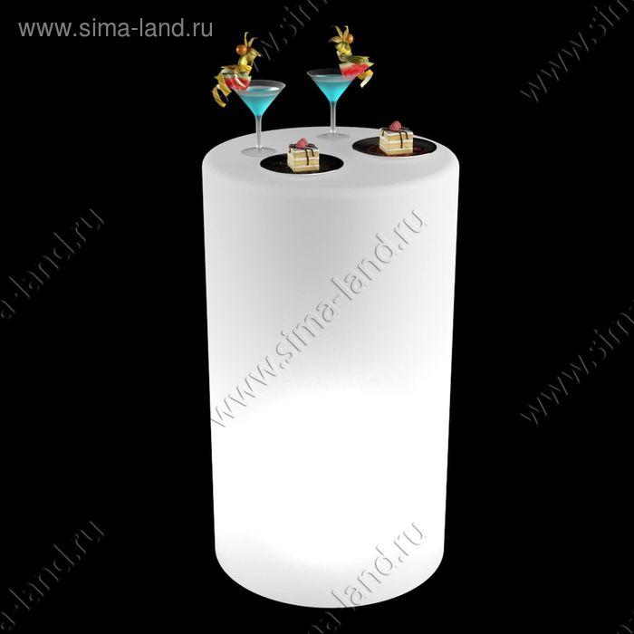 Стол световой фуршетный, LED 16 цветов