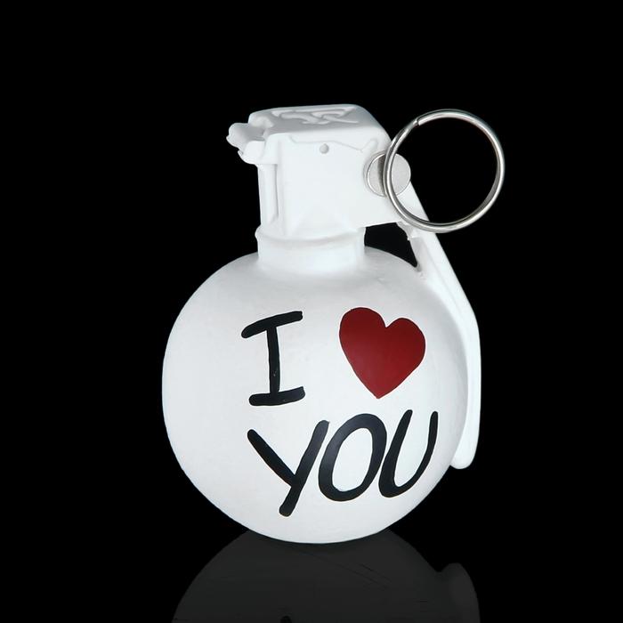 """Держатель для карточек и фото """"Лимонка. I love you"""" белый"""