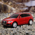 """Машина радиоуправляемая """"Audi Q5"""", работает от батареек, масштаб 1:24, световые эффекты, МИКС"""