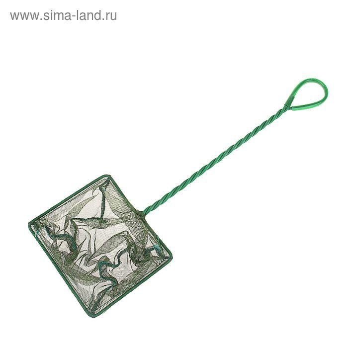 Сачок для рыб зелёный Aleas 12,5 см