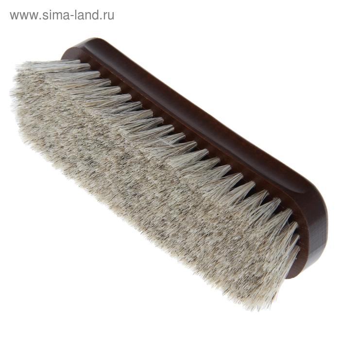 Щётка обувная VIP 186 пучков, натуральный волос
