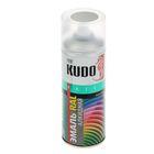 Эмаль универсальная Kudo RAL 7035 светло-серый, 0,52л
