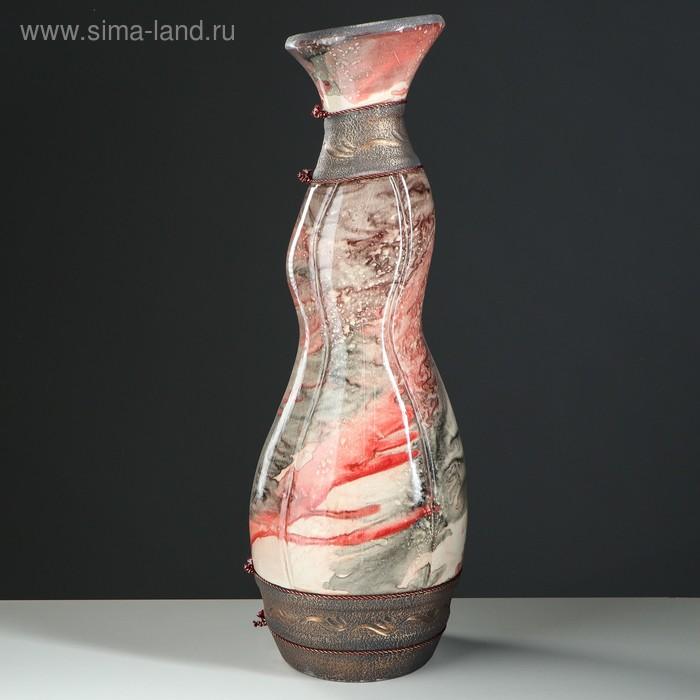 """Ваза напольная """"Феникс"""" мрамор"""