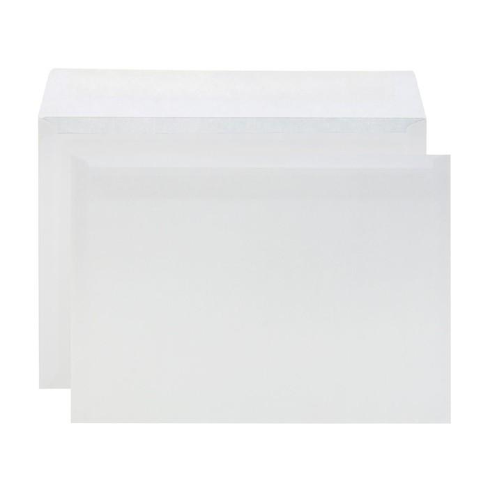 Конверт почтовый С4 229х324мм чистый, без окна, клей, без внутренней запечатки, 90 г/м, упаковка 100 шт