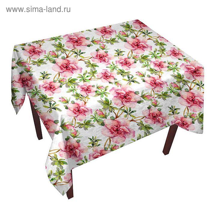Скатерть Весна 150 х 220 +/- 3 см, габардин