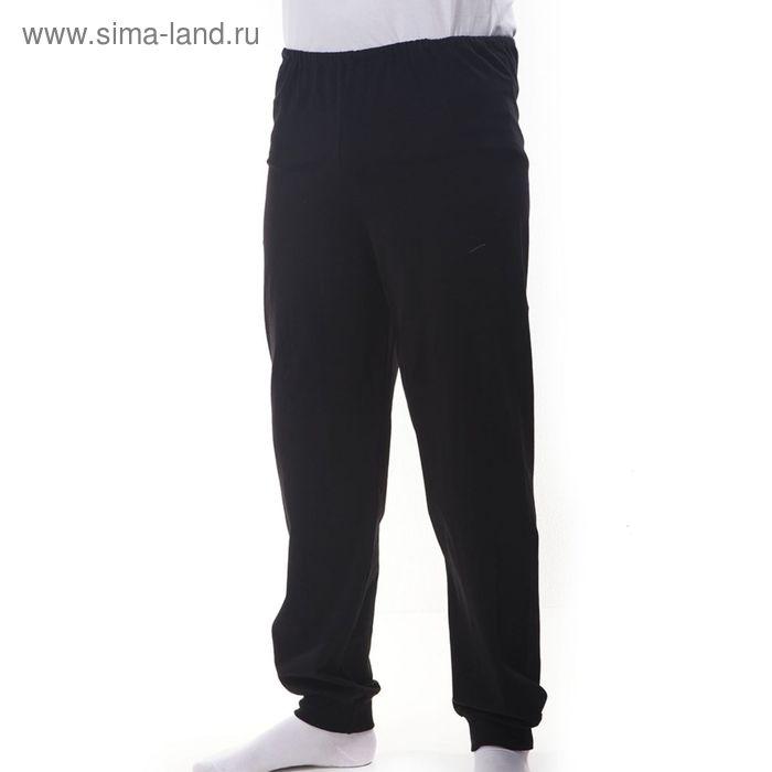 Брюки мужские, рост 182 см (52), цвет чёрный Р507285