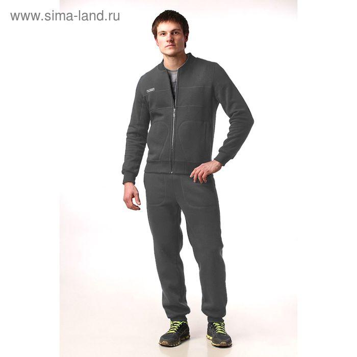 Костюм мужской (жакет, брюки) М-41-05 антрацит, р-р 54