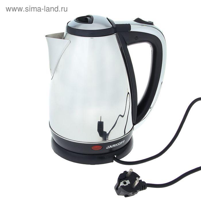 Чайник электрический Jarkoff JK-200S, 1.8 л, 1850 Вт, металл
