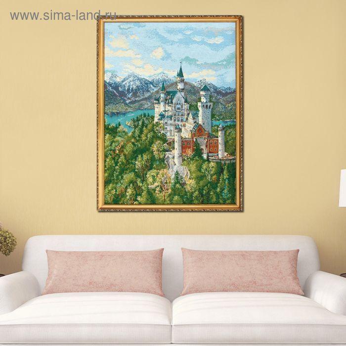 """Гобеленовая картина """"Замок с изумрудными крышами"""""""