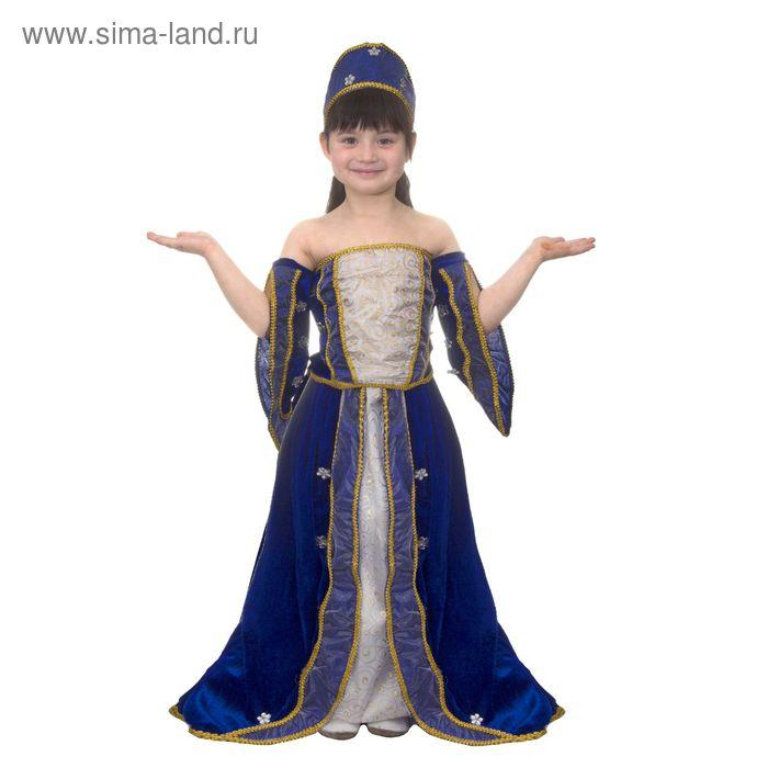 """Карнавальный костюм """"Графиня"""", 3 предмета: блузка, юбка, головной убор, размер M (120-130 см)"""