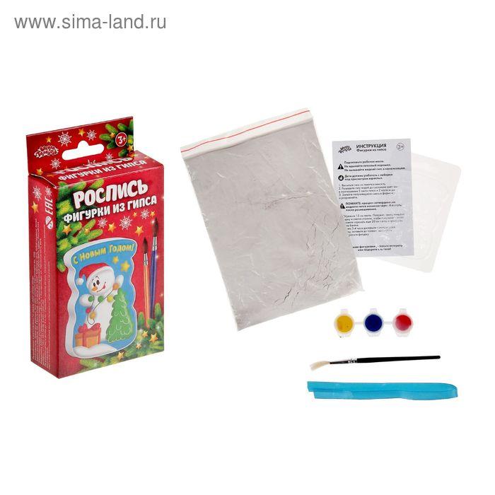 Набор для росписи по керамике «Снеговик»