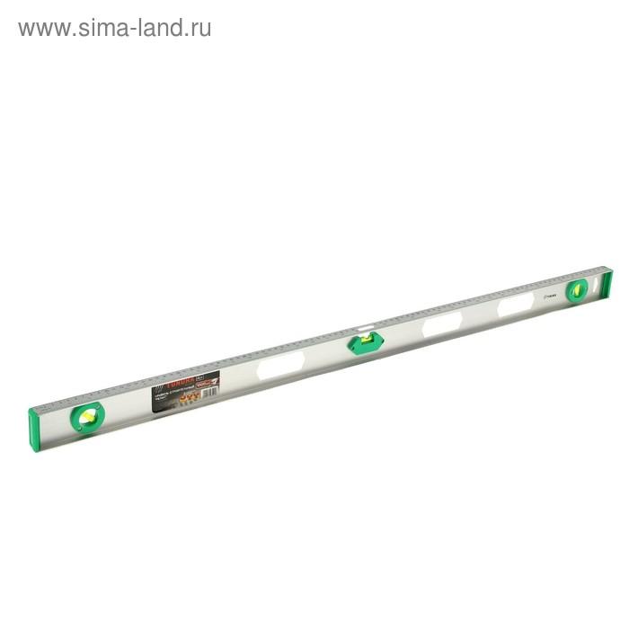 """Уровень строительный TUNDRA basic, """"Рельс"""", алюминиевый, 100 см"""