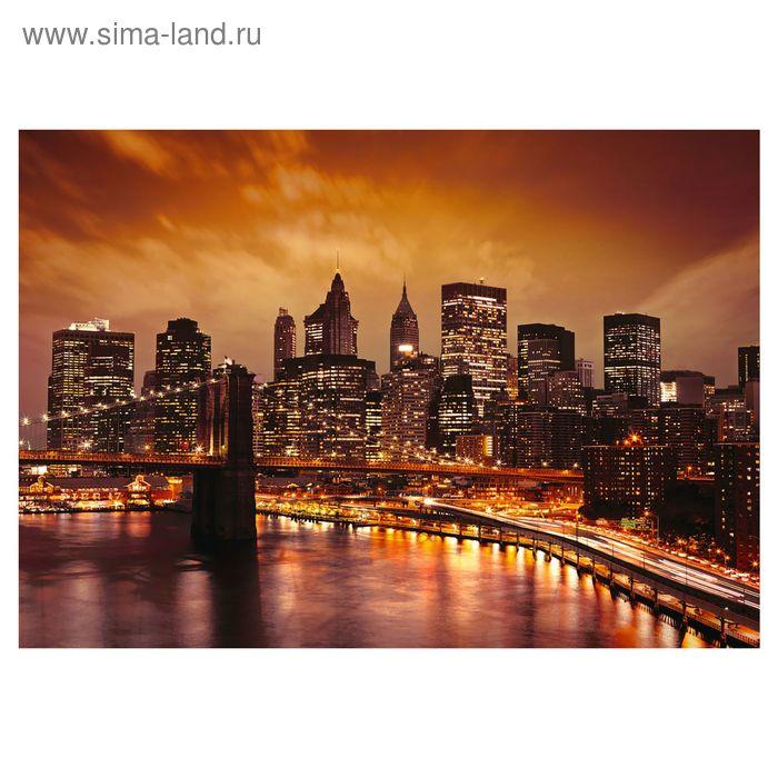 """Фотообои """"Бруклинский мост"""" 41-0024-WV, 400х280 см"""