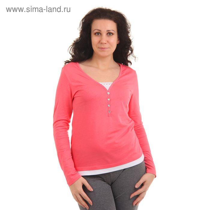 """Джемпер женский """"Сорренто"""", рост 158-164 см, размер 44, цвет розовый (арт. MK2192/01)"""