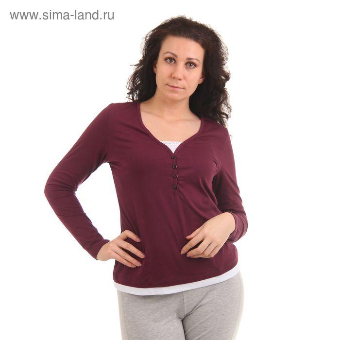 Джемпер женский Сорренто MK2192/01 вишневый, р-р 42 (84)