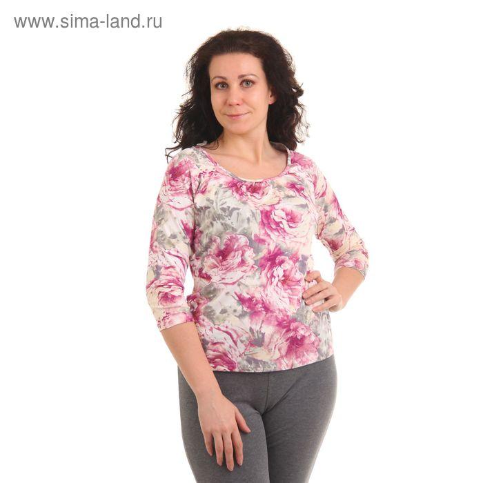 "Джемпер женский ""Мадейра"", рост 158-164 см, размер 44, цвет розовый (арт. MV2341/01)"
