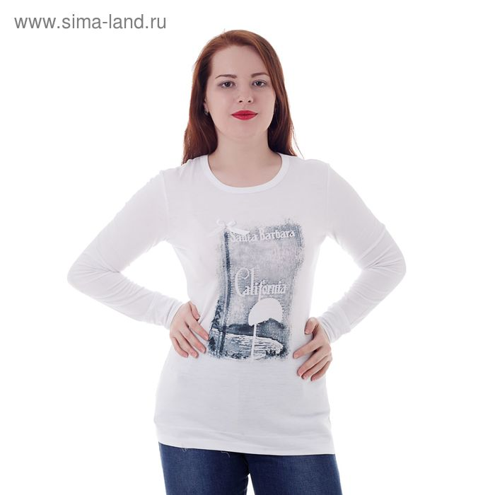 Джемпер женский MV19049 белый, р-р 44 (88)