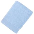 Полотенце махровое гладкокрашеное 50х100см, небесно-голубой 500гр/м, хл100%