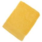 Полотенце махровое гладкокрашеное 50х100см, желтый 500гр/м, хл100%